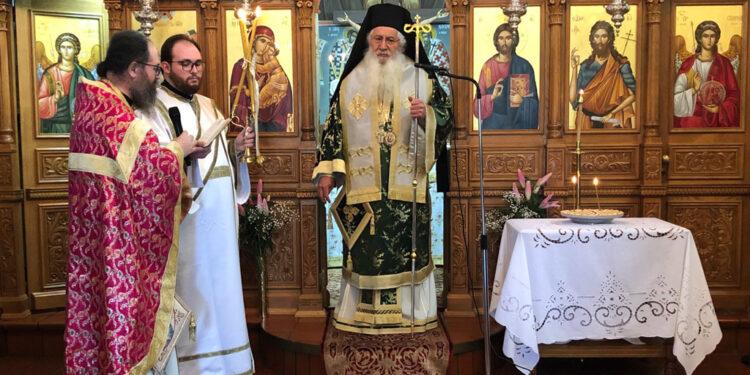 Το ετήσιο Μνημόσυνο της μακαριστής Καθηγουμένης Μαγδαληνής τέλεσε ο Μητροπολίτης Θηβών και Λεβαδειας(ΦΩΤΟ)