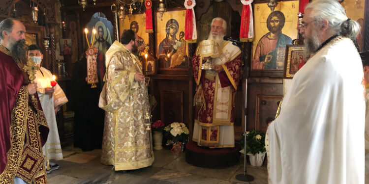 Κυριακή του Θωμά στην Ιερά Μονή Αγίου Γερασίμου Κεφαλληνίας