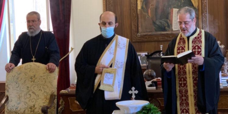 Επέστρεψε στα καθήκοντά του ο Μακαριώτατος Αρχιεπίσκοπος Κύπρου  κ.κ. Χρυσόστομος
