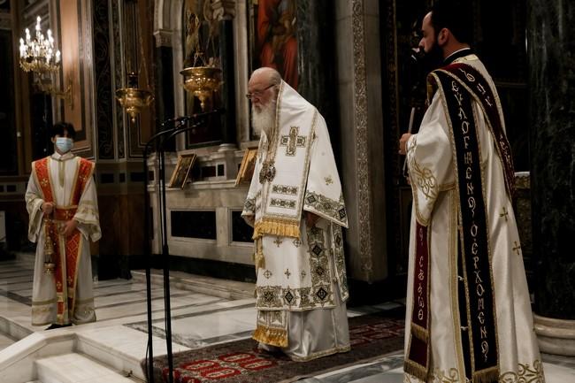 ιερωνυμος καθεδρικός αθηνών