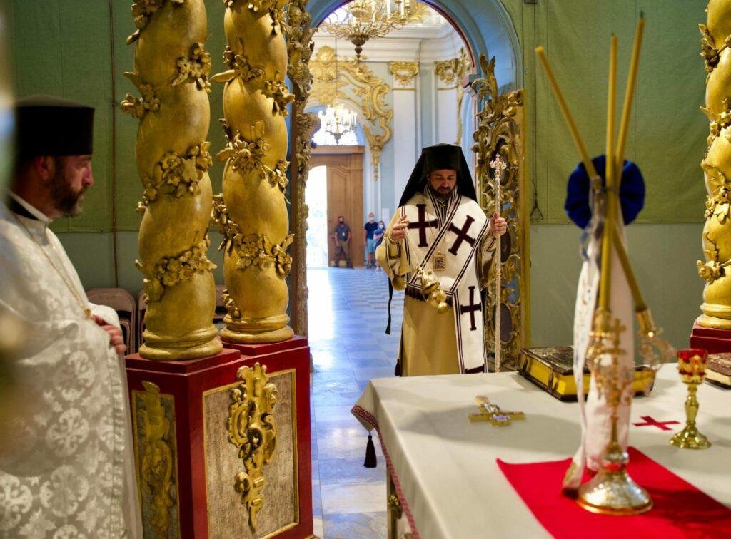 επίσκοπος κομάνων αγιος ανδρεας κιεβο σταυροπηγιο