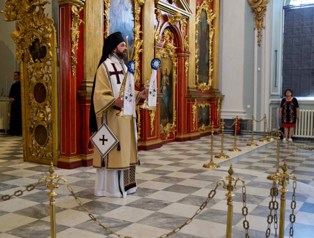 αγιος ανδρεας κιεβο επισκοπος κομανων σταυροπηγιο