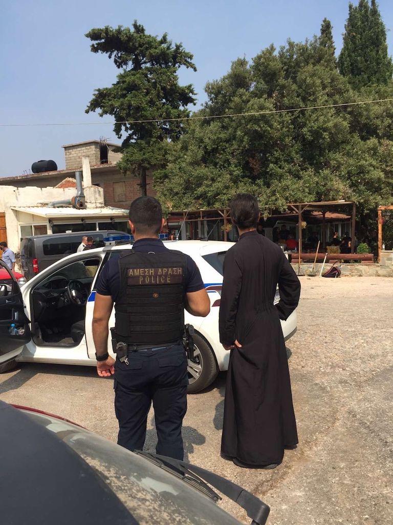 αλεξιος κουρτεσης πυροσβεστες αστυνομια