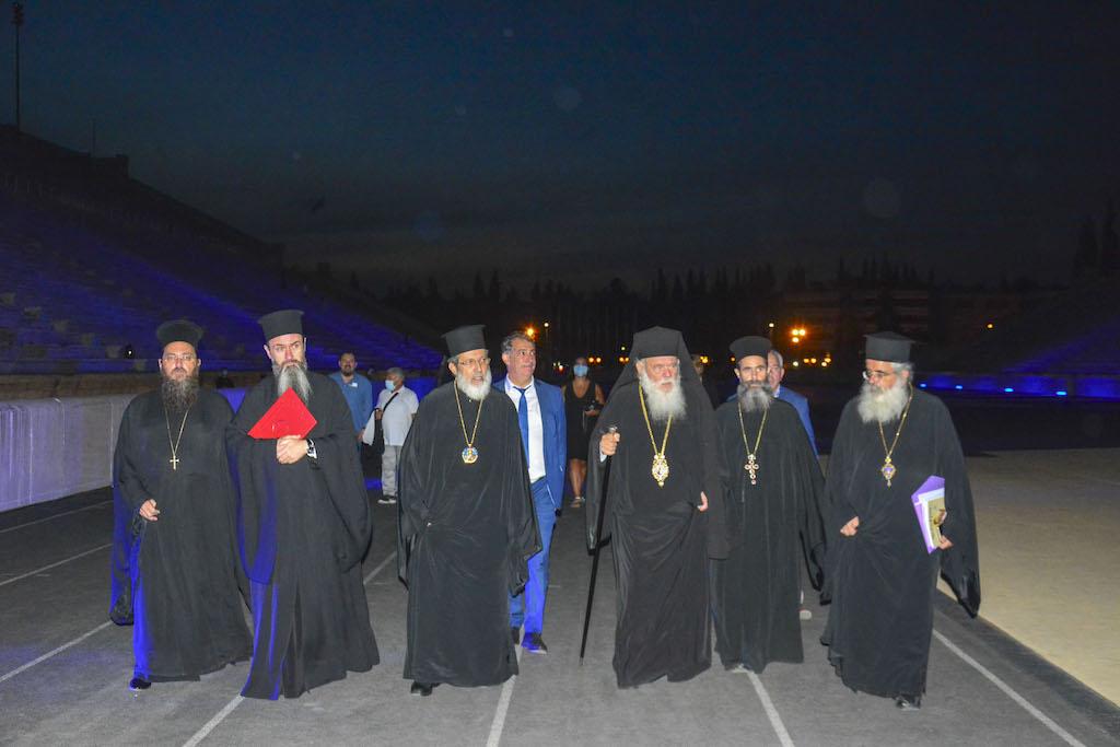 αρχιεπισκοπος αθηνων καλλιμαρμαρο